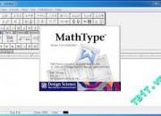Phần mềm MathType – Soạn công thức, tạo ký hiệu toán học
