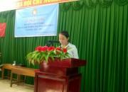 Hội khuyến học huyện Vĩnh Thuận trao học bổng khuyến học cho học sinh nghèo, khó khăn, hiếu học