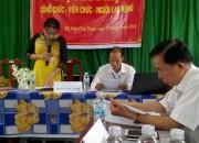 Hội nghị Công chức – viên chức Trường THCS Thị Trấn.