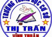Trường Trung học cơ sở Thị Trấn Vĩnh Thuận lá cờ trong phong trào thi đua dạy tốt học tốt ở huyện Vĩnh Thuận