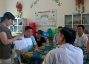 Trường THCS Thị Trấn tổ chức Họp PHHS lần 2.