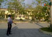 Tập luyện Bóng rổ chuẩn bị ngày Hội Giáo dục huyện Vĩnh Thuận.