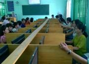 Trường THCS Thị Trấn tổ chức Tập huấn cho giáo viên về xây dựng và thực hiện các chủ đề giáo dục STEM qua trang trường học kết nối.