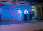Trường THCS Thị Trấn đạt giải nhất toàn đoàn trong các hoạt động ngày Hội đọc sách huyện Vĩnh Thuận năm 2019